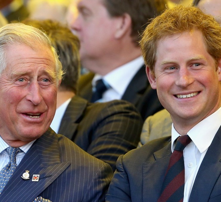 Prince Harry and Prince Charles Invictus Games - Opening Ceremony