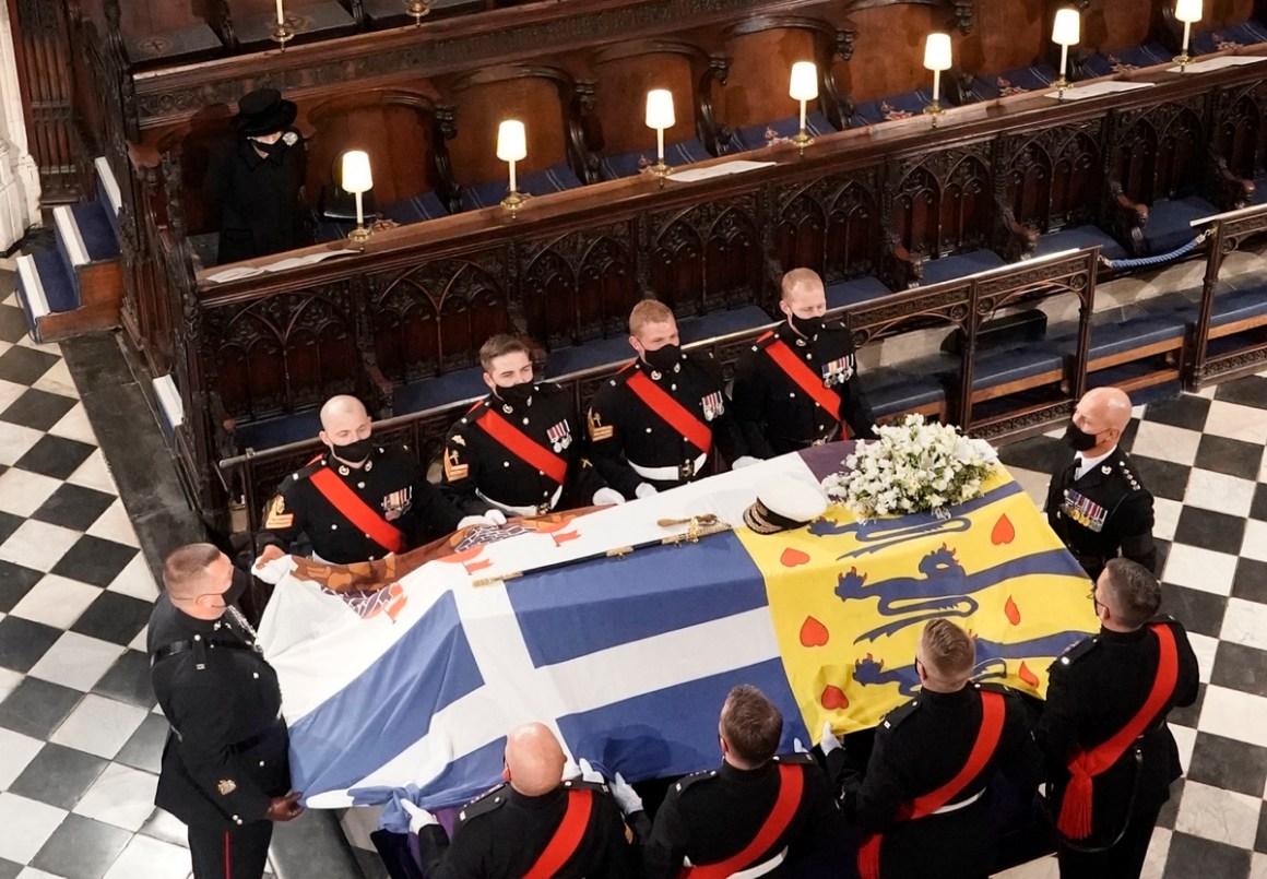 The Funeral Of Prince Philip, Duke Of Edinburgh Is Held In Windsor