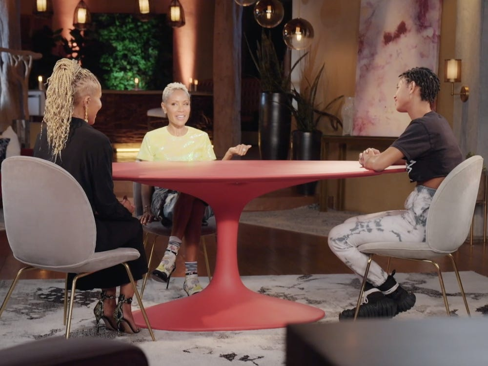 Jada Pinkett Smith and Willow Smith Red Table Talk