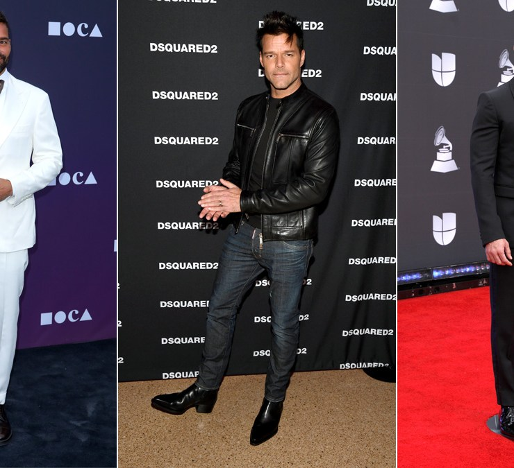 SL's 10 favorite Ricky Martin red carpet pics