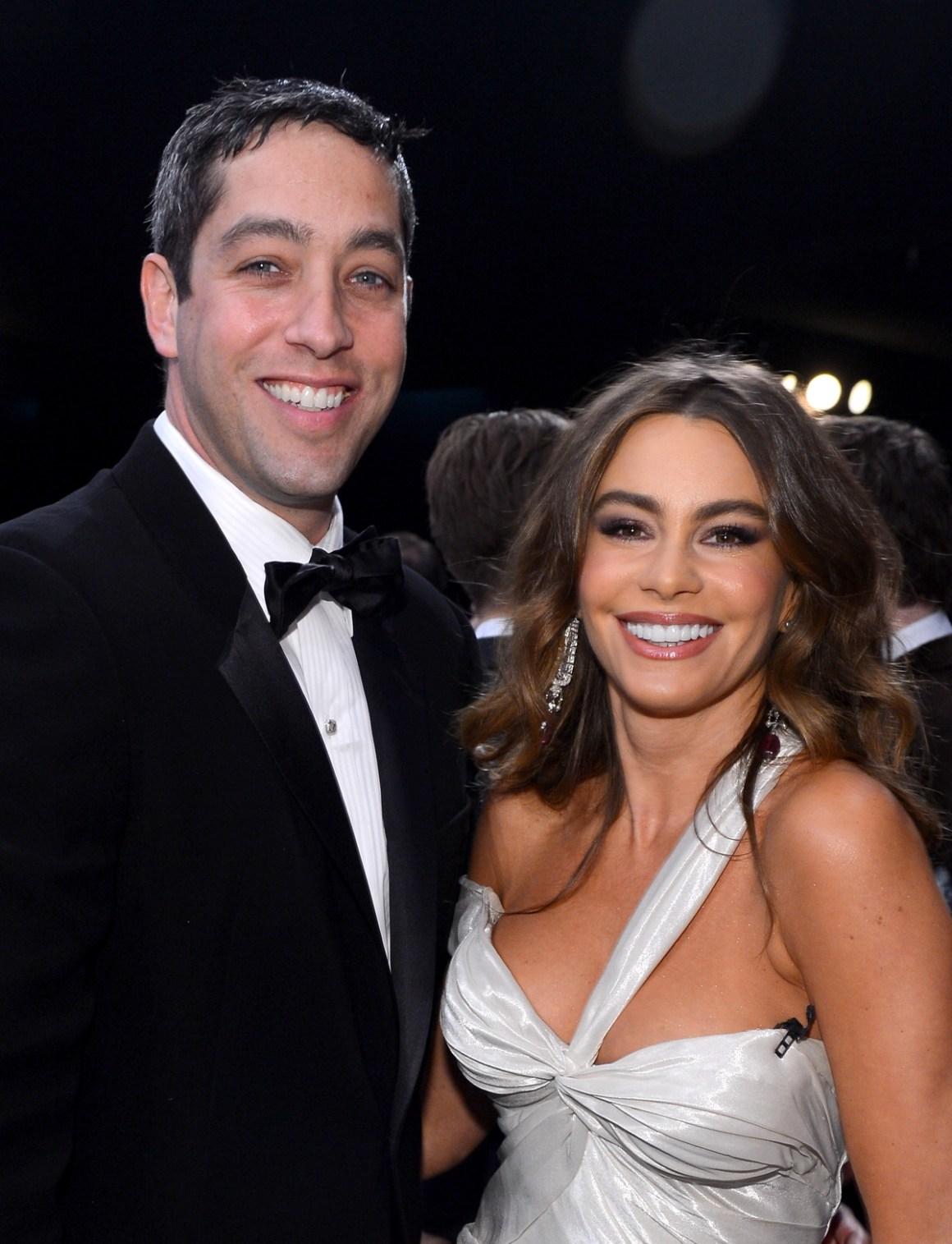 Sofia Vergara and Nick Loeb 19th Annual Screen Actors Guild Awards - Show