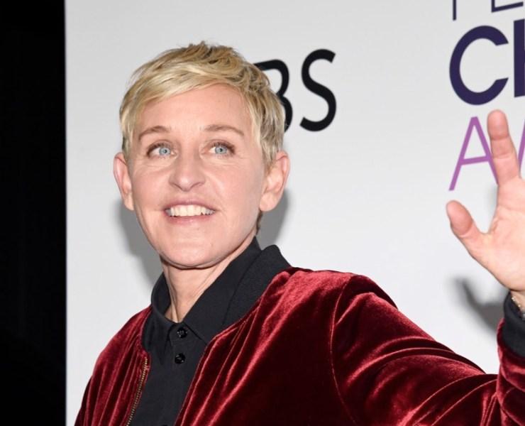 Ellen DeGeneres People's Choice Awards 2017 - Press Room