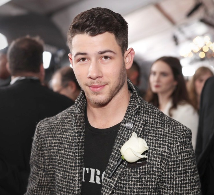 Nick Jonas 60th Annual GRAMMY Awards - Red Carpet