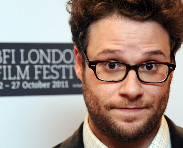 Seth Rogen 50/50 - Premiere:55th BFI London Film Festival