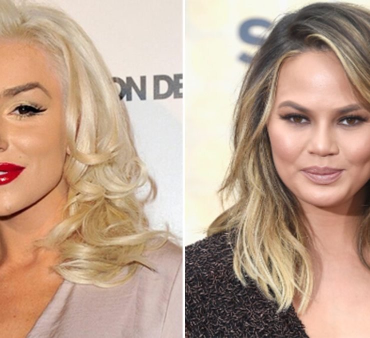 Courtney Stodden and Chrissy Teigen