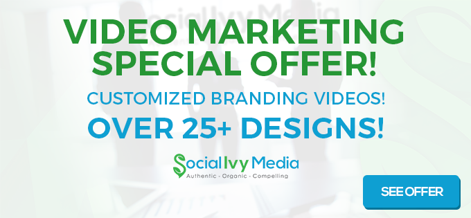Video Marketing Special Offer!2
