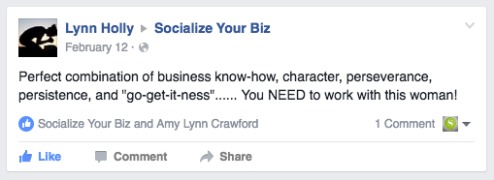 Lynn Holly Socialize Your Biz