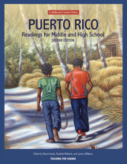 Puerto Rican Children's Literature for Social Justice: A