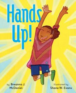 Hands Up! book cover and link to Powell's books