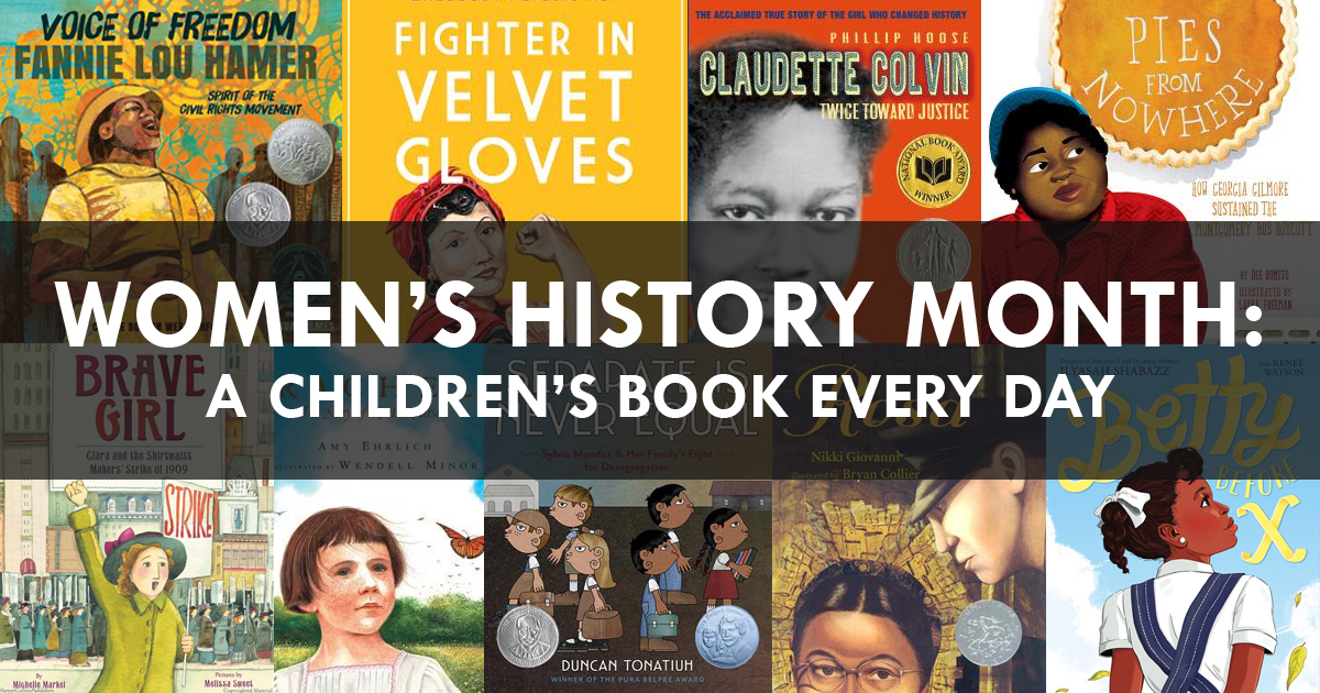 Women S History Month A Book Every Day Social Justice Books
