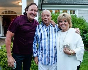 Larry Scott, Iris and Saul Katz, Owner of the NY Mets