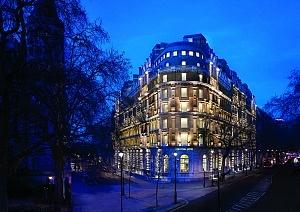 Twilight Exterior Corinthia Hotel London - Copy