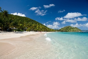Pristine White Sand & Turquoise Waters