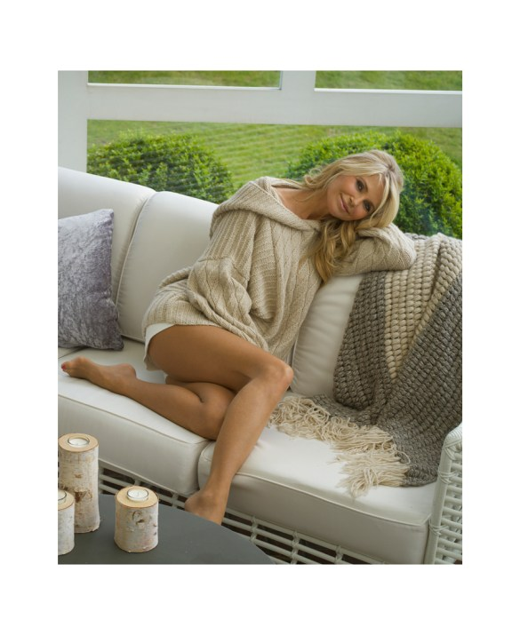 Sweater by HANIA New York Shawl by HANIA New York