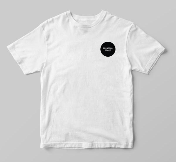 Social Living_Personal Space_Shirt_White@2x