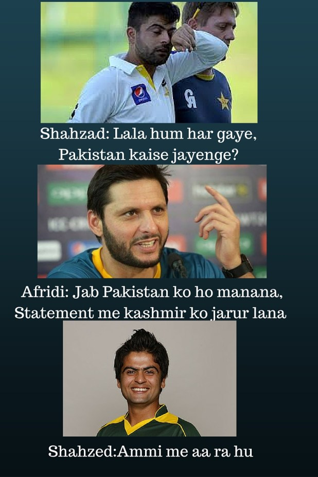 Afridi can land to Pakistan after pinging the Kashmir issue