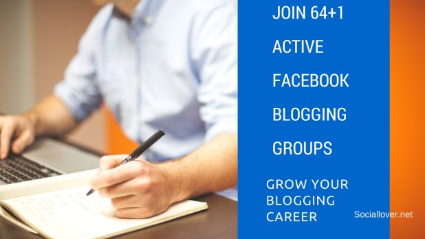 Active Facebook groups for Bloggers