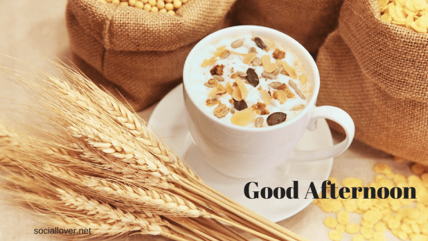Good afternoon cup with milk image HD