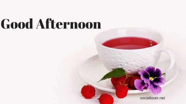 Good afternoon tea image free download