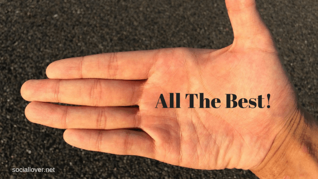 all the best hand image