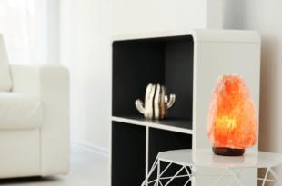 Orange Salt Lamp Wallpaper