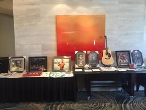 Auction items at FCA Southwest Florida