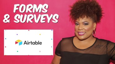 Airtable how to create a form or survey for free | Content Creator