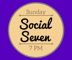 Join us Sundays at 7pm MST at: http://socialseven.podbean.com/