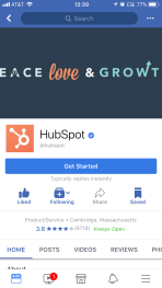 Hubspot Facebook Cover Image