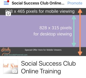 Optimize Your Facebook Cover Image for Mobile Viewing