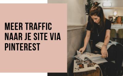 Meer traffic naar je site via Pinterest