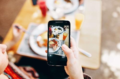Fotograferen met je mobiel - beeld scherpstellen