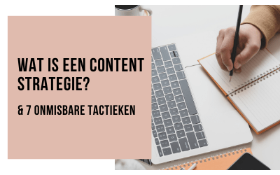 Wat is een Content Strategie?