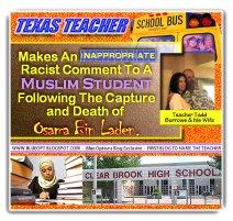 Islamophobic Teacher