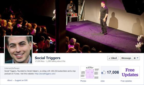 Social Triggers Facebook Page