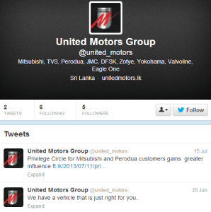 United Motors Group Twitter