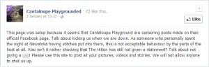 Cantaloupe Playgrounded