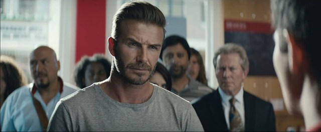 "David Beckham is on the search for an ""All In one"""