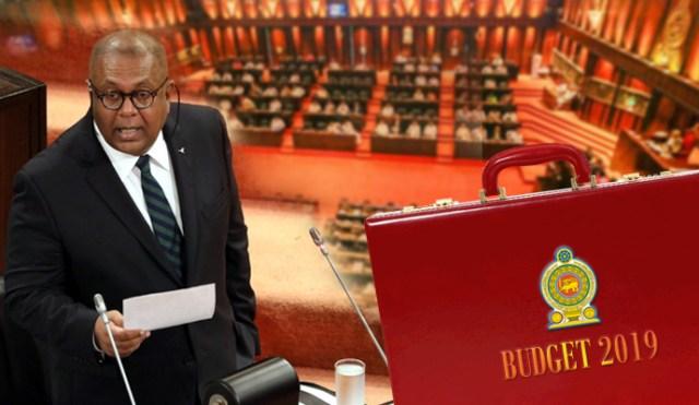 Sri Lanka Budget 2019