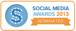 Social Media Awards - Nominated badge 2013