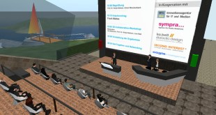 Vortrag in der virtuellen Welt Secondlife über Open Innovation