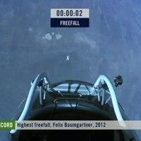 Felix Baumgartner's space jump sets social media records today