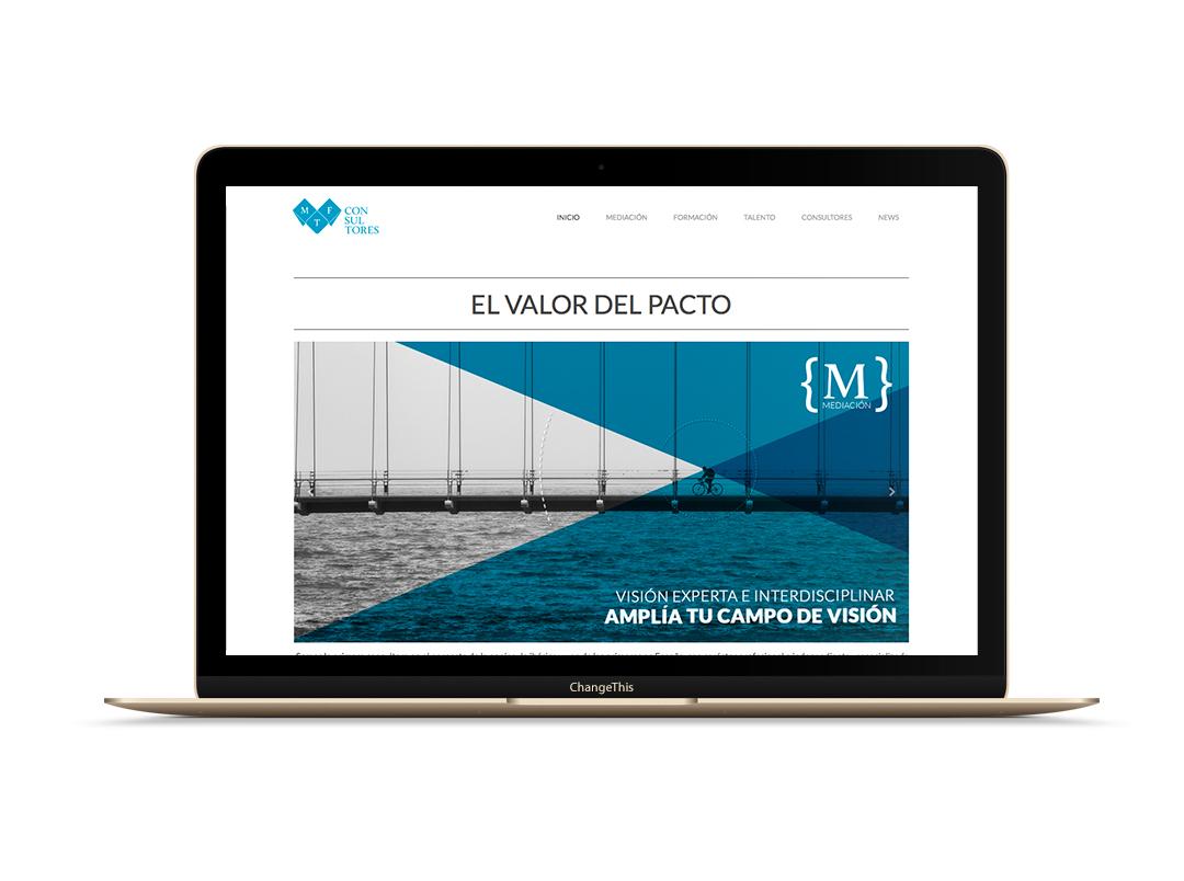 Web Consultoría de Mediación MTF