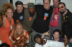 Jeff Pulver's group hug birthday photo