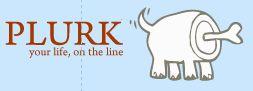 Plurk, the logo