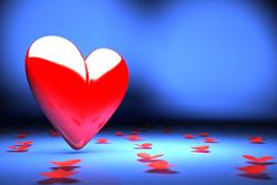 Heart with Petals by Evgeny Korshenkov on Shutterstock.com