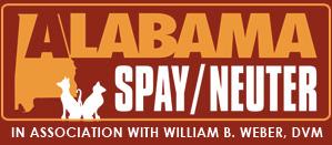 Image of the AL Spay Neuter logo