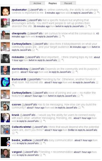 The Twitterati React