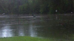 Submerged mailbox