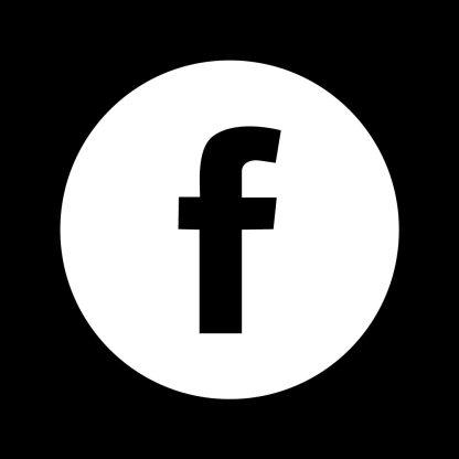 Facebook Round Social Media Icon